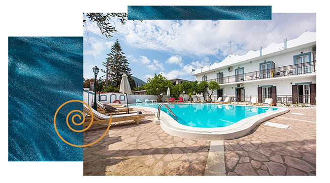 Aquarius Beach Eco-Hotel in Corfu